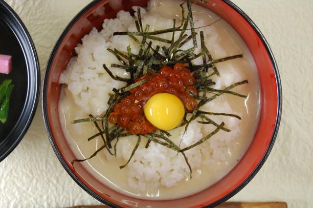 山の芋丼(器入り)